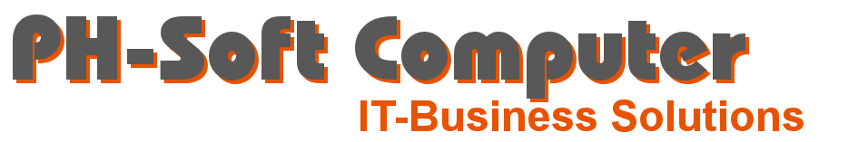 Logo PH-Soft Computer IT-Business Solutions